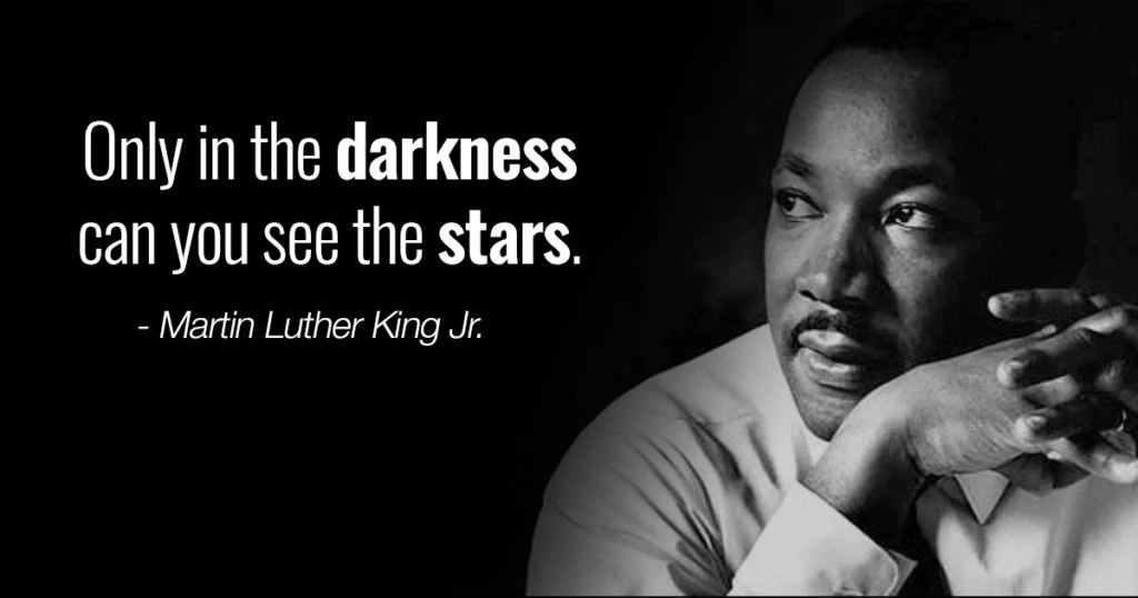 It's always good to remember to look for the stars. #MLKDay #MondayMotivation