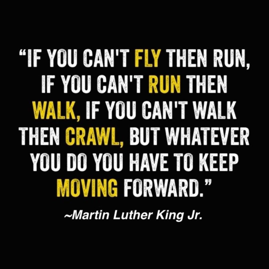 Always a favorite. #MondayMotivation #MLK