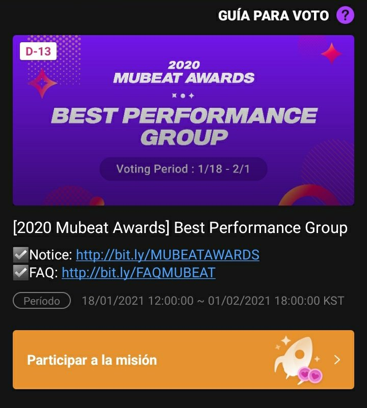 #VOTE por #KARD  Los chicxs están nominados en los #MUBET_AWARDS para Best performance group. ¡¡¡VAMOS #HIDDENS!!!!! #JIWOO #JSEPH #SOMIN #BM @KARD_Official