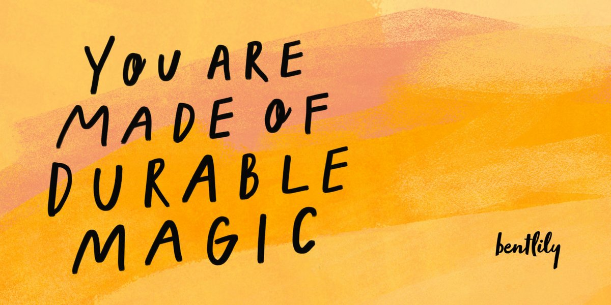 You are made of durable magic that was invented for one purpose:  to feel it all. . . #selflove #feelthefeels #poem https://t.co/L9cfuNVmbG https://t.co/IFxTzEWF41