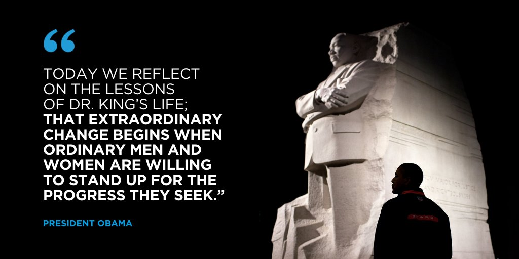Today, millions of Americans will answer Dr. King's call to help others through acts of service.   This #MLKday, share how you're serving your community today—whether in big or small ways—in the comments below. Still need ideas? Visit