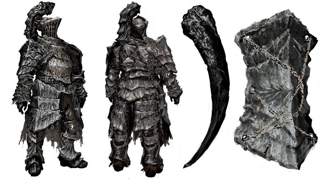 """Fextralife - ⚔️#DarkSouls - Havel the Rock⚔️  He is an Apostle to Allfather Lloyd, the Guardian of Law and Caste, plus one of the great Royals of Thorolund. He turned hollow later in life and was locked in the watchtower basement by """"a dear friend.""""  ➡️   @DarkSoulsGame"""