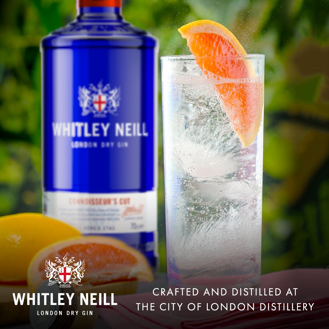 Brighten up your #BlueMonday 💙 - #WIN a bottle of our new Connoisseur's Cut Gin AND a £100 @HarveyNichols voucher! 👌  For a chance to win: 👉 #Like and #retweet this tweet 👉 #Follow @WhitleyNeill  👉 #Tag a friend   Good luck! 🎉 #Competition Ts&Cs -