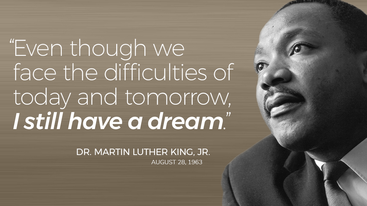 Our offices are closed today out of respect for the civil rights movement to which Dr. King gave his life — and in which this moment demands we all participate. We join you in taking a moment today to ask what more each of us can do to effect real and valuable change. #MLKDay