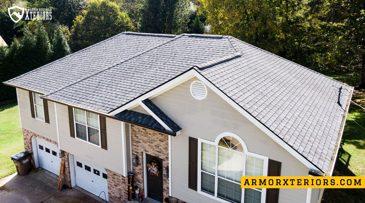 Another Ringgold home protected with an Armor Roof!  #roofingcompany #chattanooga #ringgold #armorup #armorxteriors #armorroofing