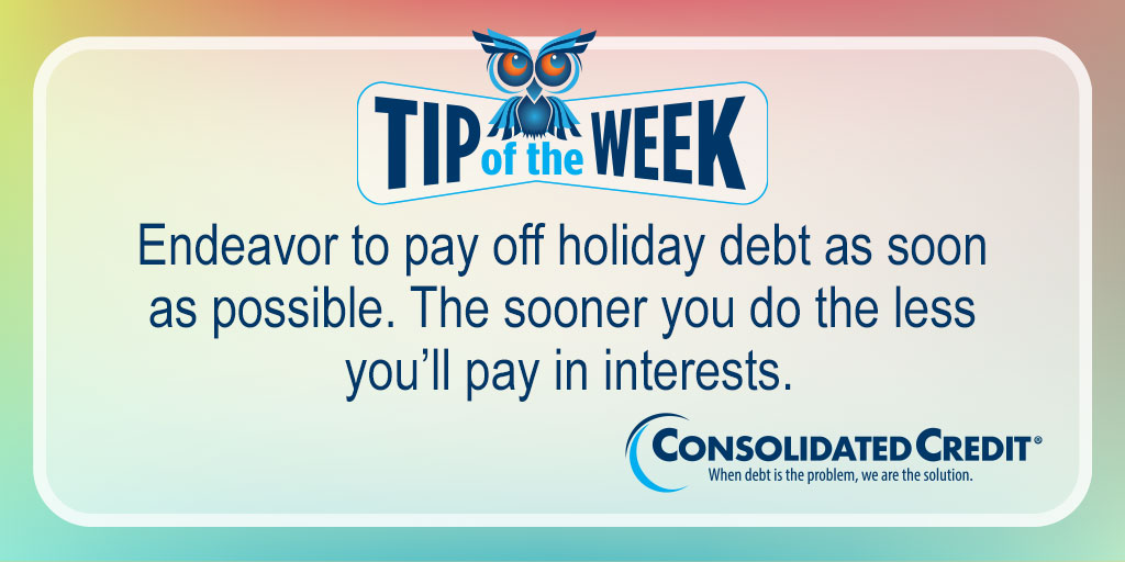 🦉  #TipOftheWeek #Contest RT weekly #tips for chance to #win $50 in monthly drawing. #TipOftheWeekContest💰 #WINMoney   A #DebtManagementProgram could help you get out of #debt faster, even though you may pay less each month:  #DebtSucks ☎️  1-888-210-9953