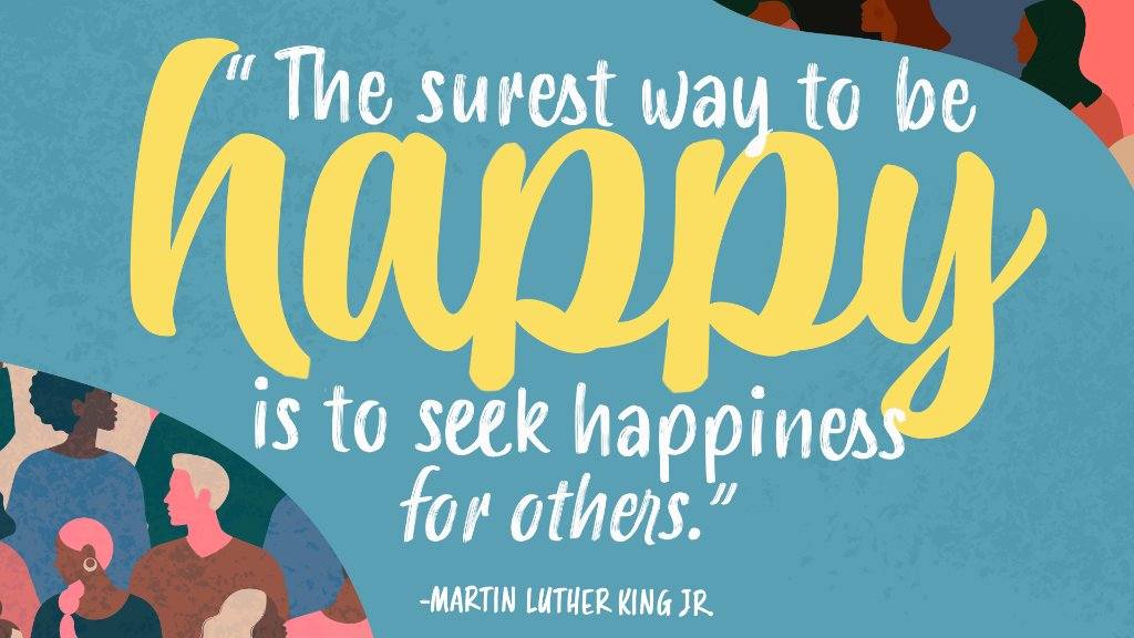 An inspiration to us all! Happy #MLKDay 💙 https://t.co/IEEKOYG3yx