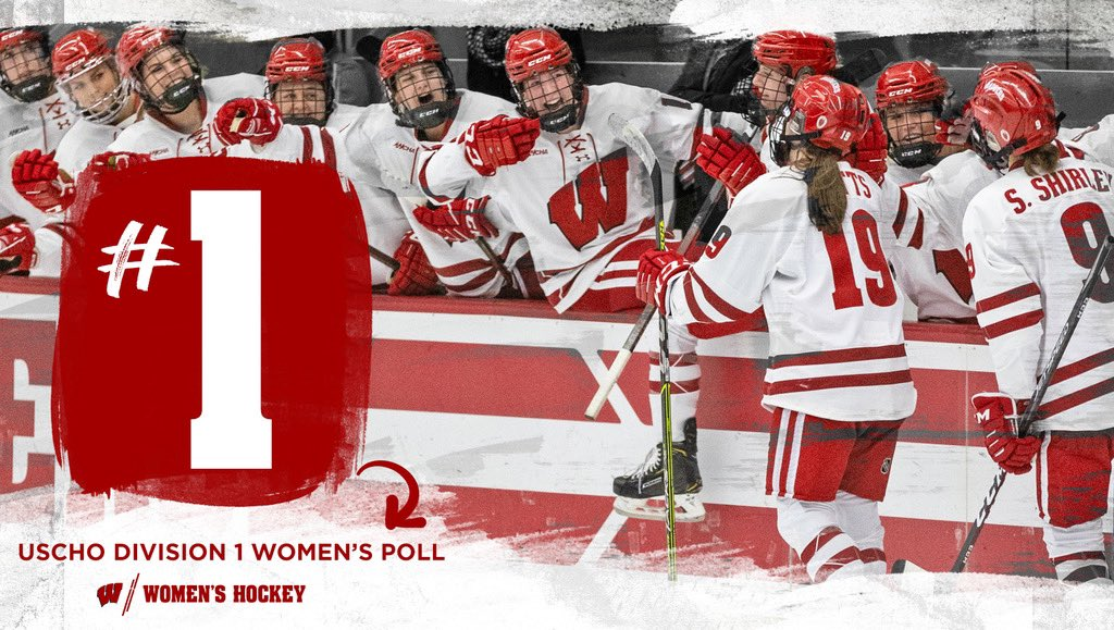 Replying to @BadgerWHockey: Feels great to be back on top!  #Badgers || #OnWisconsin