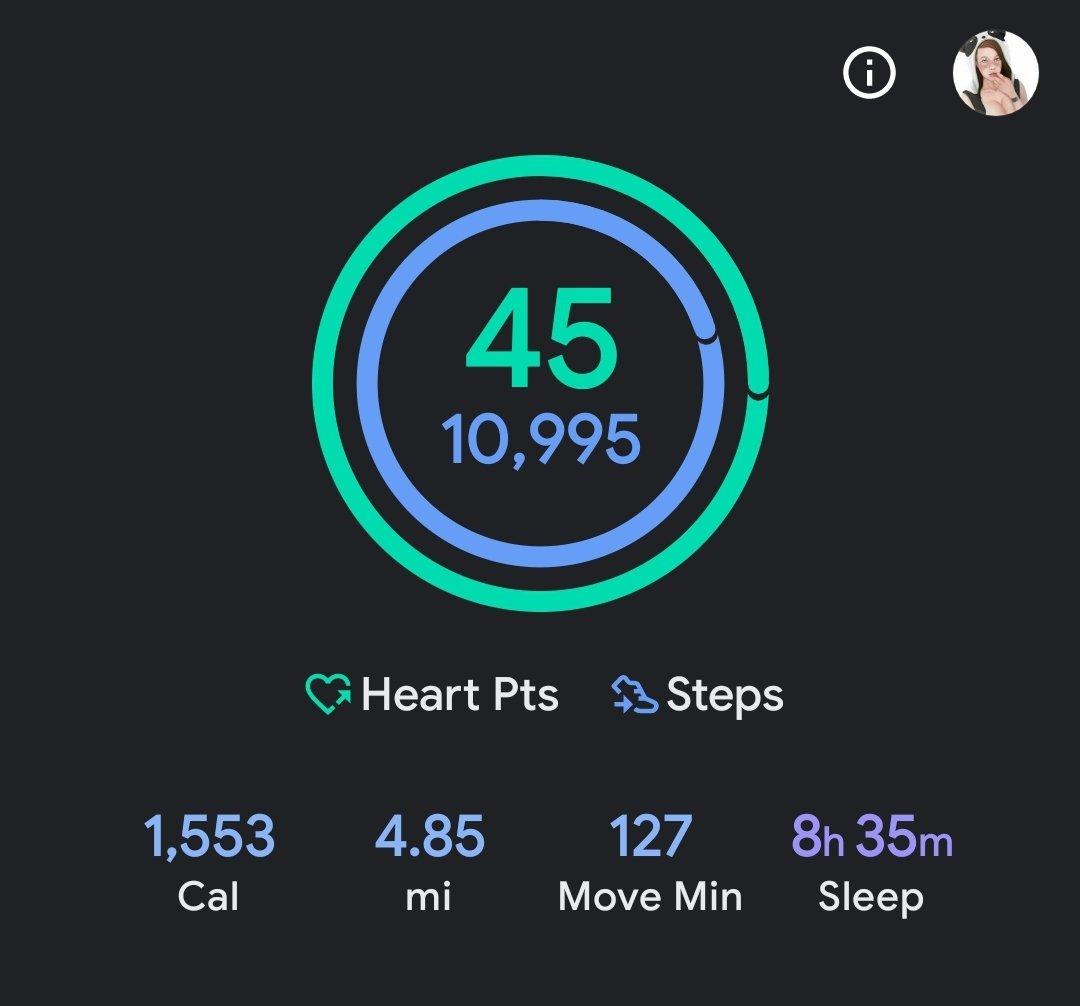 Yesterday's stats  @NevadaEscorts @bunnynetwork #FitnessMotivation #fitnessgirl #FitnessGoals #fitnessjourney #fitnessgirls #fitfam #googlefit #samsungwatch