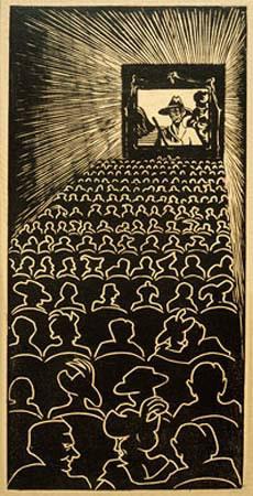 Wild West, 1920 #mcescher #surrealism
