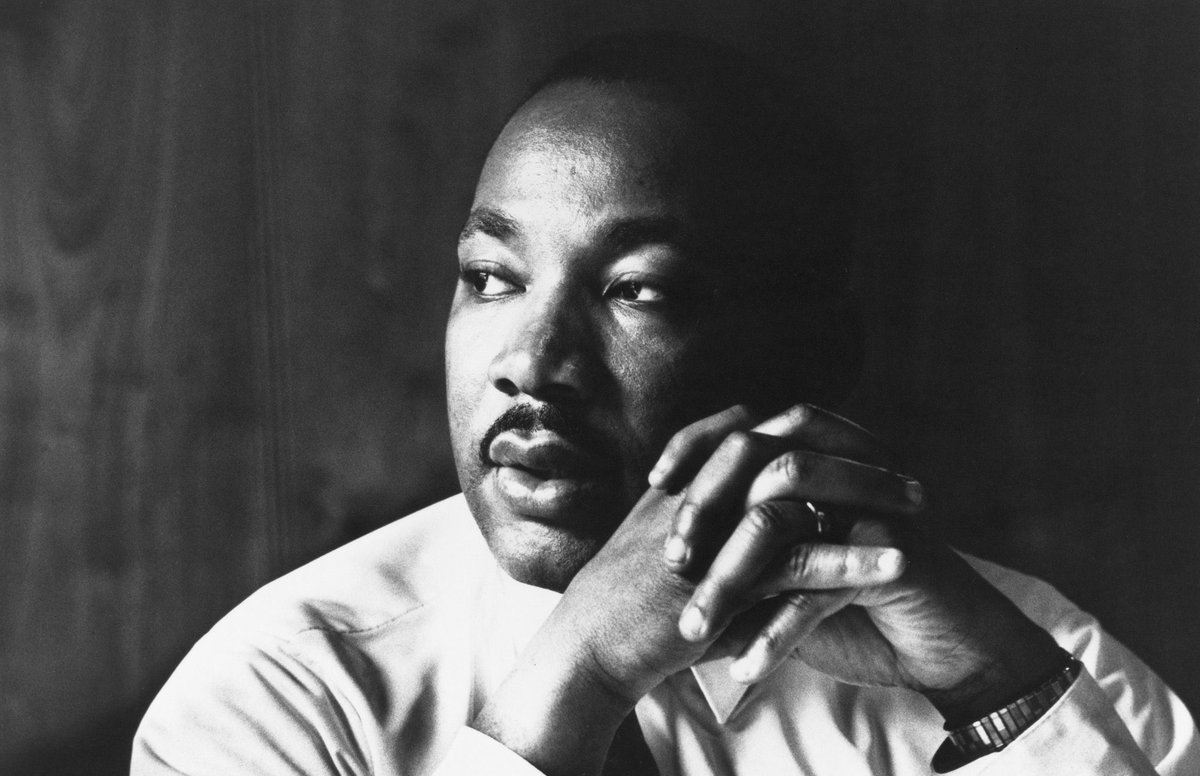 """""""The ultimate measure of a man is not where he stands in moments of comfort and convenience, but where he stands at times of challenge and controversy."""" - Dr. Martin Luther King Jr. #MLKDay"""