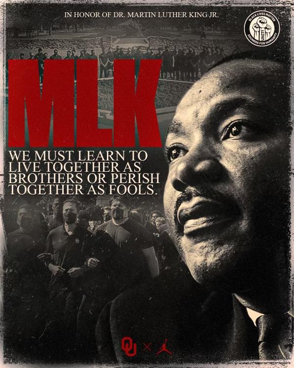 𝘛𝘰𝘨𝘦𝘵𝘩𝘦𝘳 𝘢𝘴 𝘰𝘯𝘦. #MLKDay