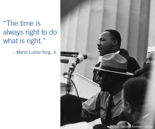 Today we celebrate the legacy and accomplishments of Dr. King and reaffirm our commitment to doing what is right for our diverse workforce, clients and community. https://t.co/Clg5neYpFK