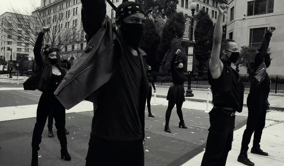 #BehindTheScenes • Our new work, NO JUSTICE, NO PEACE was conceived/choreographed by our Artist, Conrad Kelly II and directed/filmed/edited by our Artist, Ajah Smith • Watch on YouTube:  #StepAfrika