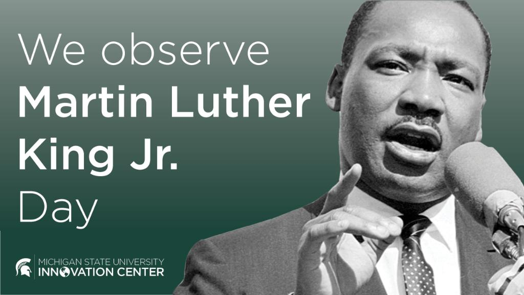 Today we observe, recognize and honor the work of Dr. Martin Luther King Jr. Learn more about the weeklong collection of events that MSU is hosting to commemorate the legacy of MLK #MLKDay