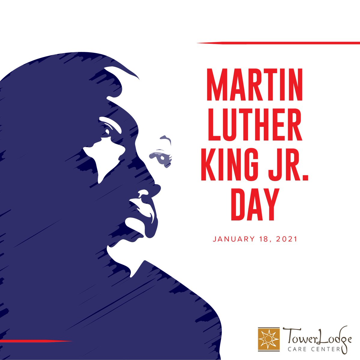 Each year on the third Monday of January we observe Martin Luther King, Jr. Day and reflect on his work for racial equality. Today, we remember and celebrate his life and achievements. #MartinLutherKingJrDay #MLKDay #MLK