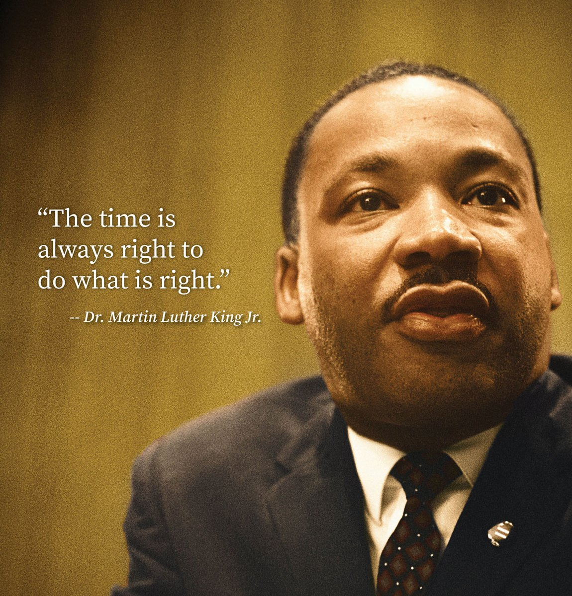"Our Chairman & CEO Dave Zapico reflects on the below quote from Dr. Martin Luther King Jr.: ""It reminds us of our responsibility to have a positive impact on each other and on our society.""   Join us in honoring Dr. King's memory with acts of compassion & respect. #MLKDay2021 https://t.co/RElFOEg6ey"