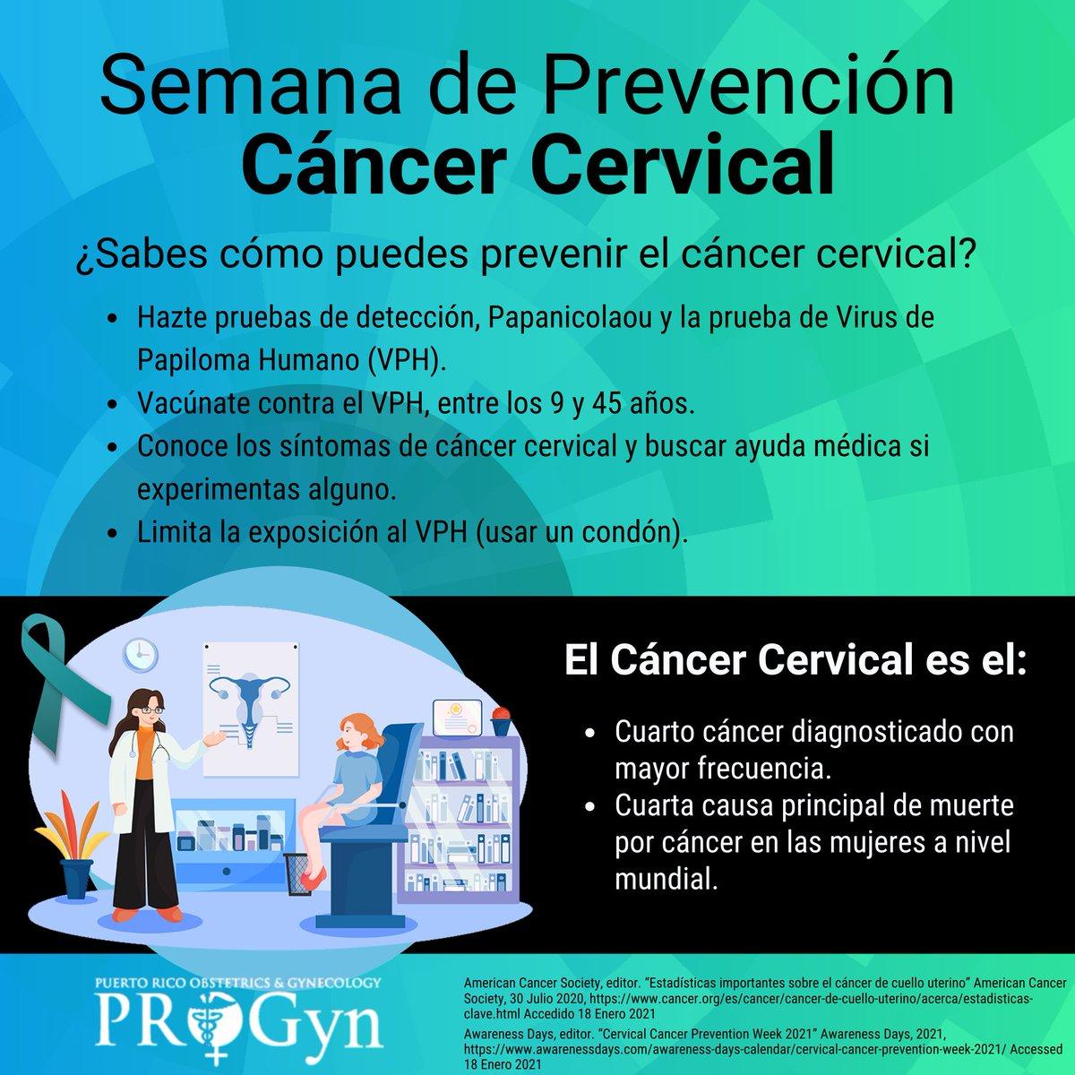 En la semana de la prevención del Cáncer Cervical, queremos darte algunas maneras de prevenir el cáncer cervical. Haz tu cita, consulta con tu ginecólogo. #PROGyn #PROGynContigo #MATERR #CáncerCervical #CervicalCancerAwareness #Papanicolaou #HPV