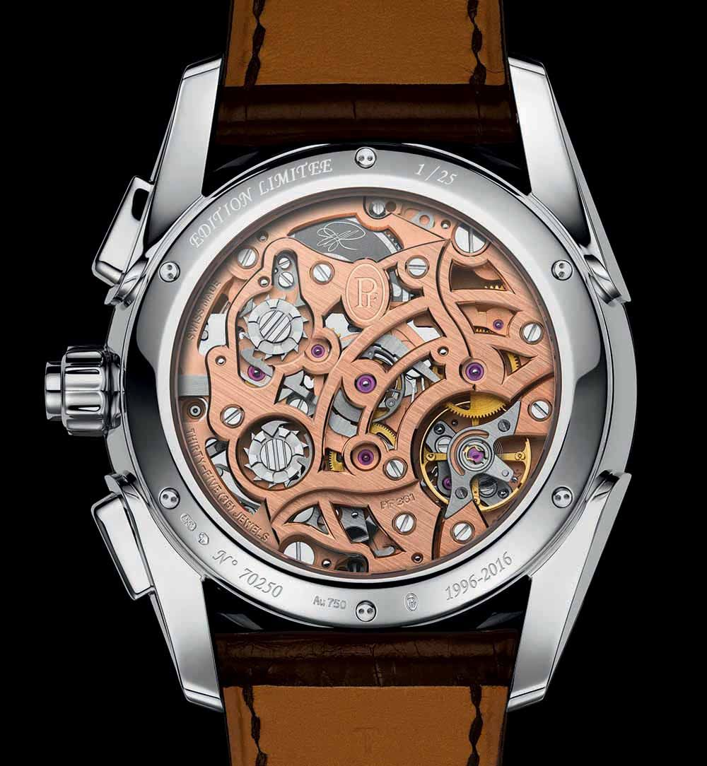 #OnThisDay January 18 2016: Parmigiani Fleurier introduces their first in-house integrated chronograph movement, Cal. PF361, at SIHH inside the Tonda Chronor Anniversaire  @ParmigianiWatch #Horology