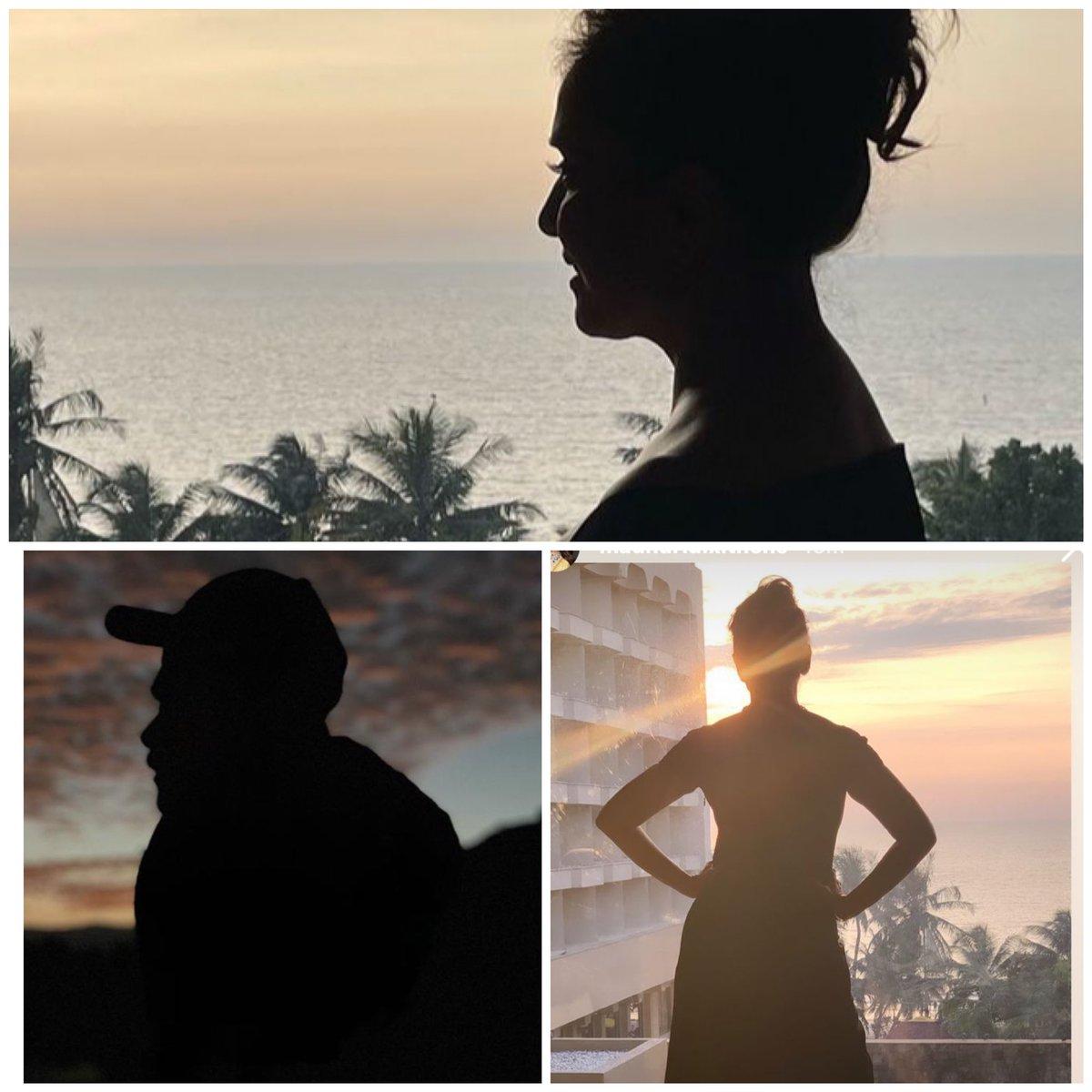 Sunset moments 🧿♥️🧿 . . #AnilKapoor #MadhuriDixit @MadhuriDixit @AnilKapoor #madnil