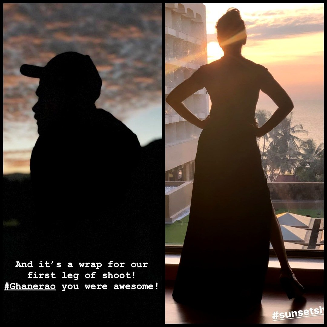 Silhouette kind of moods😁❤️❤️❤️😁🔥😎 Again a coincidence...😂😝  @AnilKapoor @MadhuriDixit  #Madnil