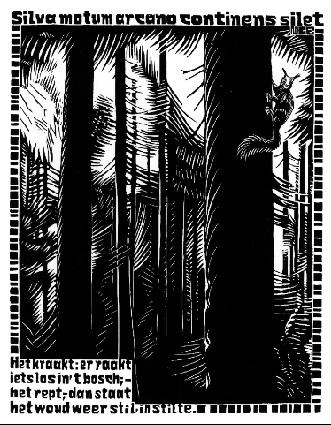 Emblemata - Squirrel, 1931 #surrealism #escher