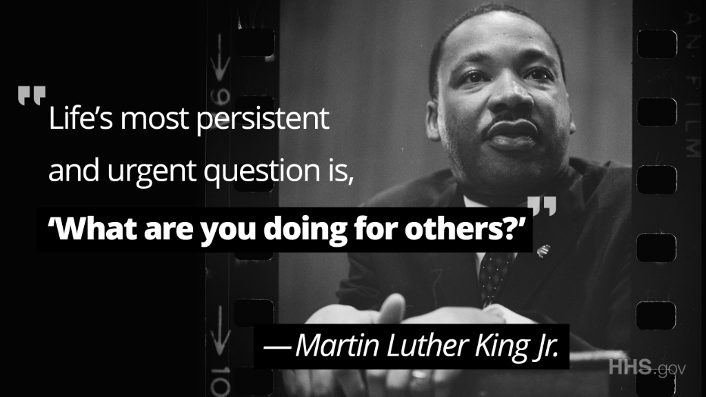 Today, we honor the remarkable life and legacy of Dr. Martin Luther King Jr. and his commitment to service. #MLKDay