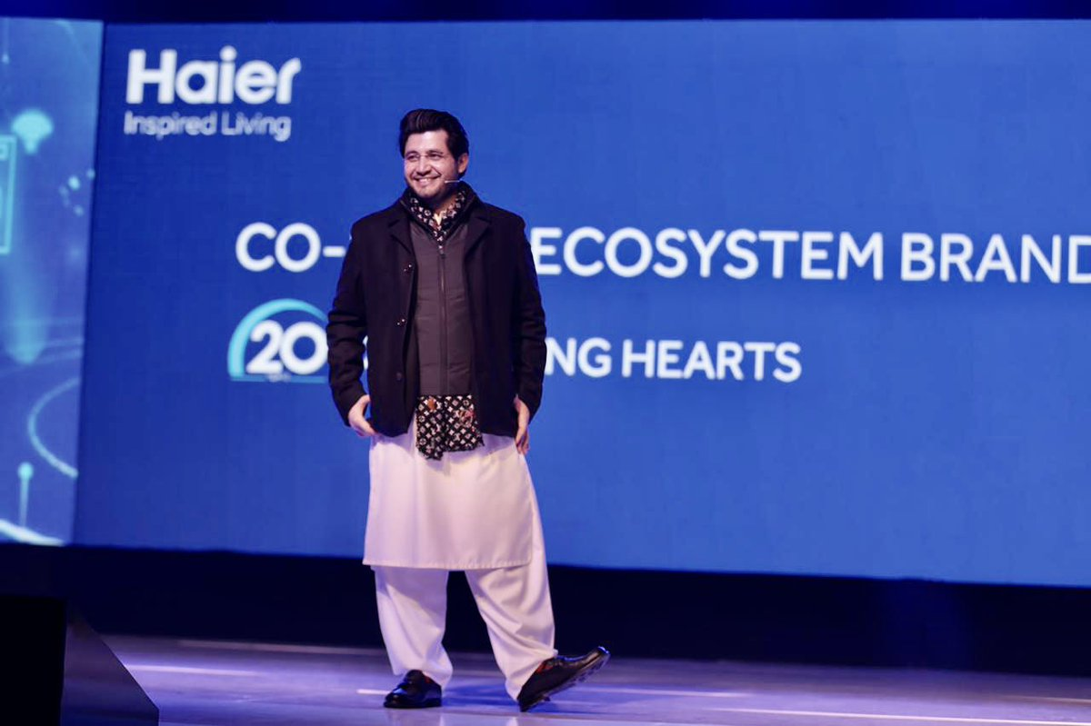 We @HaierPakistan the Global Ecosystem Brand Mark 20 Years of Growth in 🇵🇰. We celebrate our Ventures with Excellence on every level. Our targets aren't constrained to the achievements that we've today because, we aim to set Newer Milestones of grandeur on Tech Level Globally.