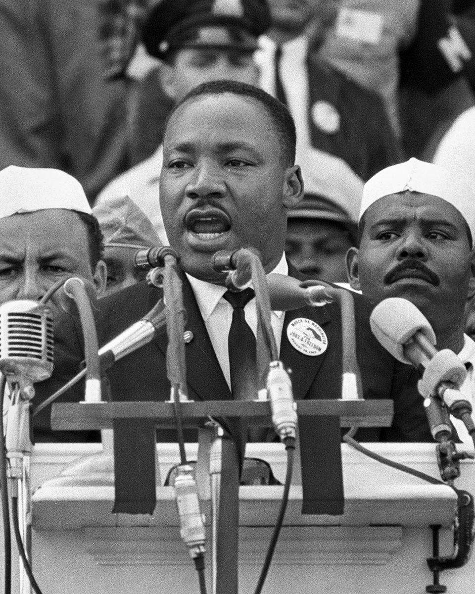 """Injustice anywhere is a threat to justice everywhere."" #MLKDay"