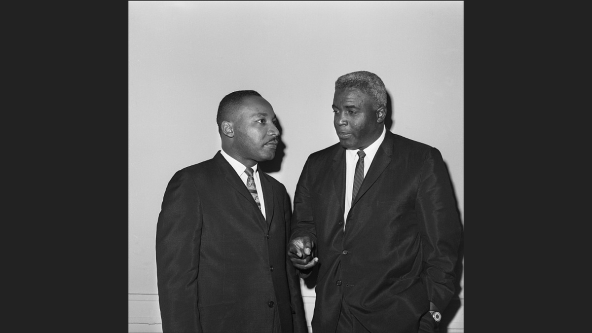"""If ever a man was placed on this earth by divine force to help solve the doubts and ease the hurts and dispel the fears of mortal man, I believe that man is Dr. King"" - Jackie Robinson, July 1, 1967  Today and everyday we pay tribute to the legacy of Dr. Martin Luther King, Jr."