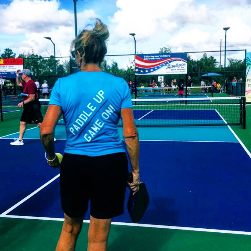 Play pickleball... it's never #waytooearly . #mondaythoughts