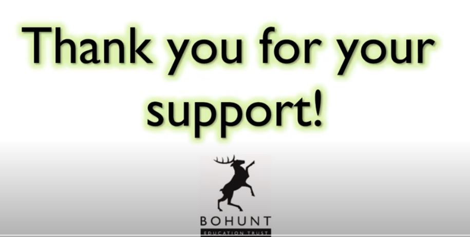 Despite it being #BlueMonday, we hope this video, showing just a tiny fraction of the #thankyous received from parents & carers across @Bohunt_Trust, raises spirits. Your efforts on behalf of our young people continue to be monumental & humbling #betyoucan