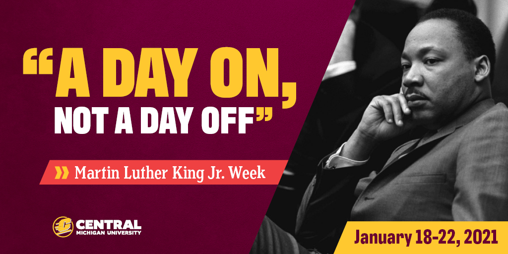 Join us in honoring Dr. Martin Luther King Jr.'s legacy this week, starting with the virtual CommUNITY Peace Service today at 9:30 a.m. Visit the link to learn more: