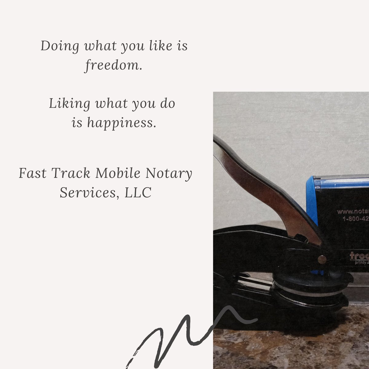 Being a Notary has made me happy because it gave me the opportunity to become an entrepreneur! #happy #beinghappy #entrepreneur #htown #houstonnotarypublic #houstontx #HoustonMobileNotary #businessowner #fasttrackmobilenotaryservicesllc
