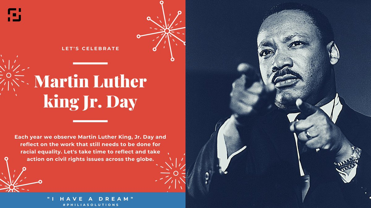 We must learn to live together as brothers or perish together as fools. -Martin Luther King, Jr. We hope you enjoy the holiday in his honor. #philiasolutions #mlk #blacklivesmatter #martinlutherking #martinlutherkingjr #civilrights #mlkjr #mlkday #ihaveadream #blackhistory