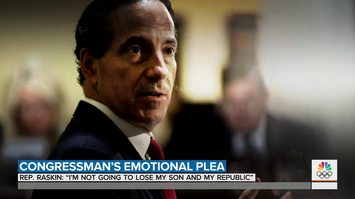 """Rep. Raskin says he's """"going to work with his son in his heart"""" as he leads the second impeachment trial against President Trump. @kasie has the story."""