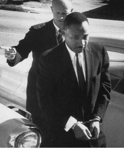 He was arrested many times. Beaten. His home was bombed. And he was eventually assassinated in order to keep him and his brothers and sisters silent. The sound of the gunshot fades after the shot but the words of truth forever echo onward. The peaceful struggle continues. #MLKday