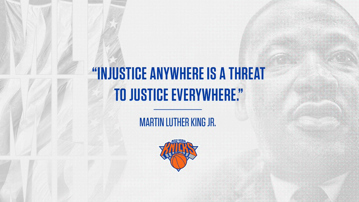 🇺🇸 #MLKDay #MLKDay2021 #MLK #MLK2021 Aujourd'hui c'est MLK Day aux Etats-Unis. Jour férié, il rend hommage au pasteur Martin Luther King.  Un jour très important où un hommage est rendu chaque année (depuis 1986) en NBA.