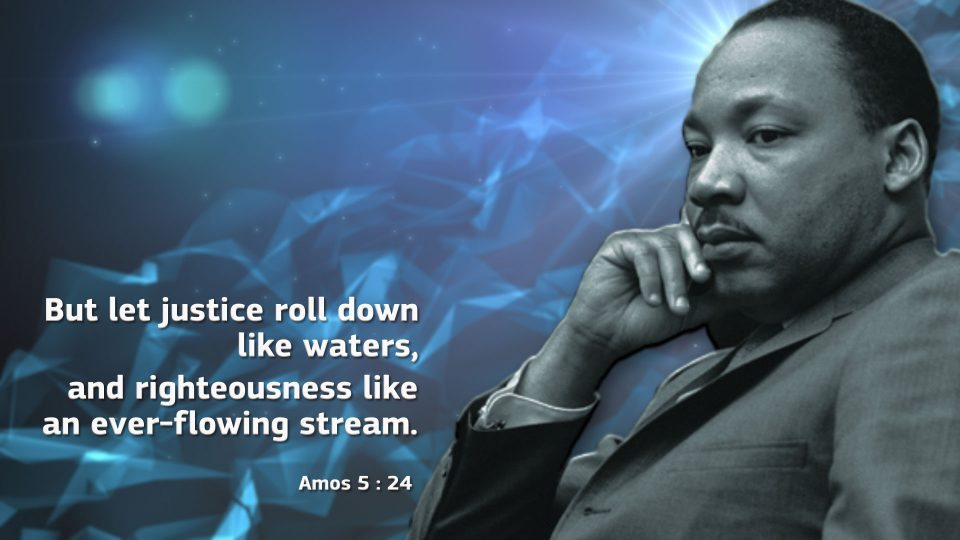 So says the Eternal God, Commander of heavenly armies, the Lord of all: Here's what I want: Let justice thunder down like a waterfall; let righteousness flow like a mighty river that never runs dry. Amos 5:16,24 VOICE #MLK2021
