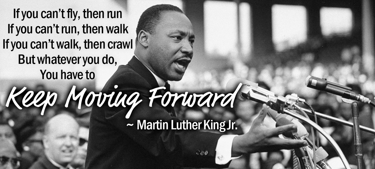 Today we honor the achievements of civil rights leader, Martin Luther King Jr. He had many insights to share with the world & his inspiration to keep moving forward is something we all should remember as we recover from the past year! Happy MLK Day! #MLK2021 #MartinLutherKingDay