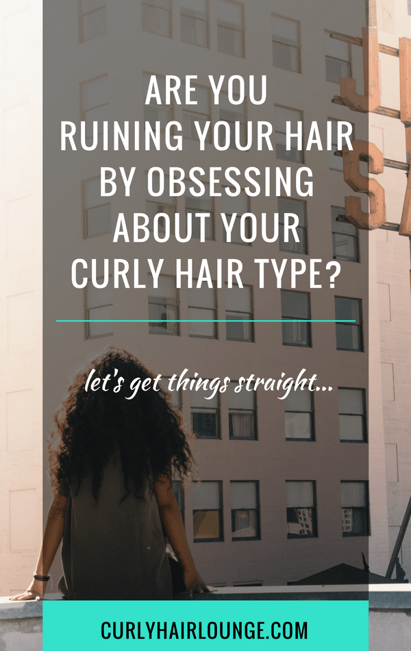 Are You Ruining Your Hair By Obsessing About Your #CurlyHair Type? Not sure? Keep reading >>  #hairgrowth #haircare