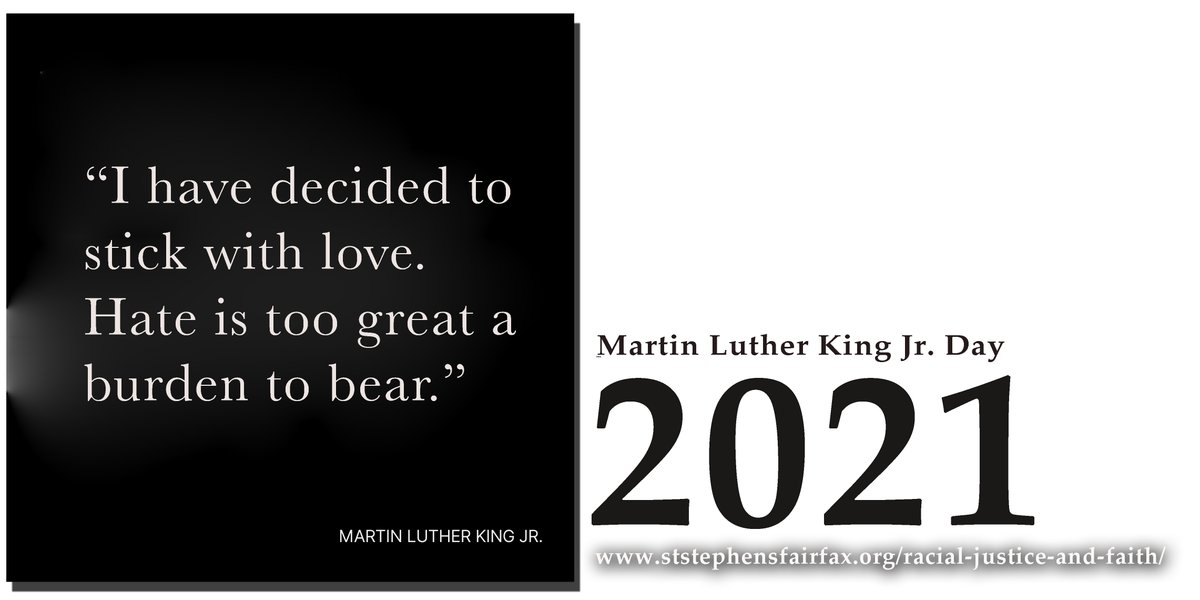 Join the discussion on Virginia Roots, Race, and Discipleship with St. Stephen's United Methodist Church  learn more at  #MLK2021 #MLKDAY