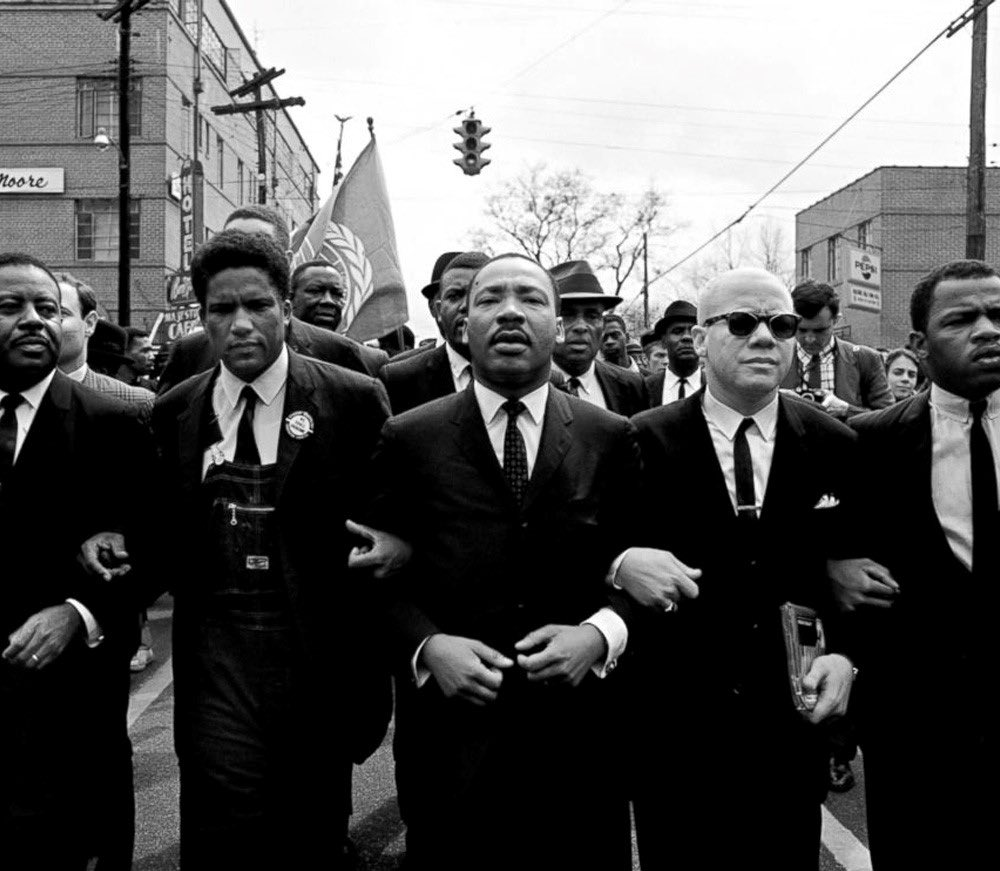"""""""Darkness cannot drive out darkness; only light can do that. Hate cannot drive out hate; only love can do that.""""   -Dr Martin Luther King Jr #MLKDay   YOUR LEGACY LIVES ON! 🖤"""