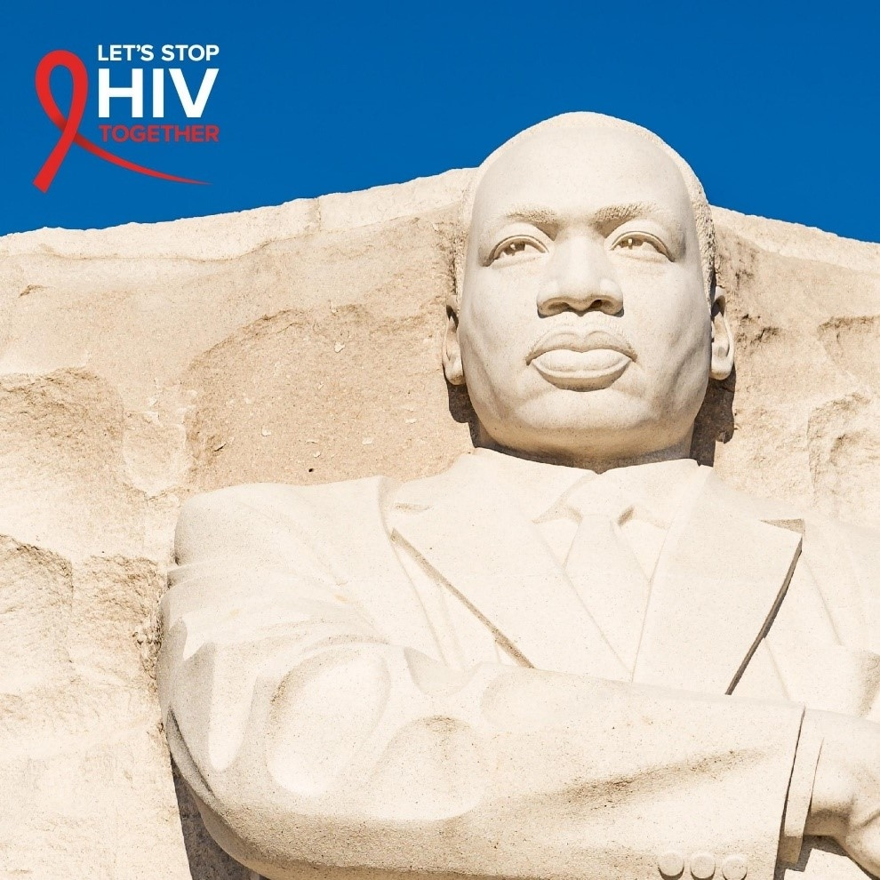 """""""The time is always right to the do the right thing.""""  -Martin Luther King, Jr. #StopHIVTogether"""