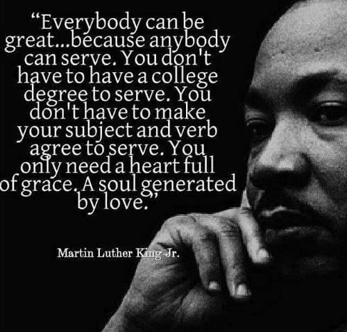 🙌Monday Morning Motivation🙌  #CapeCodMassage #MondayMotivation #MondayVibes #MLK #Greatness #Service #TakeCareOfEachother #Karma