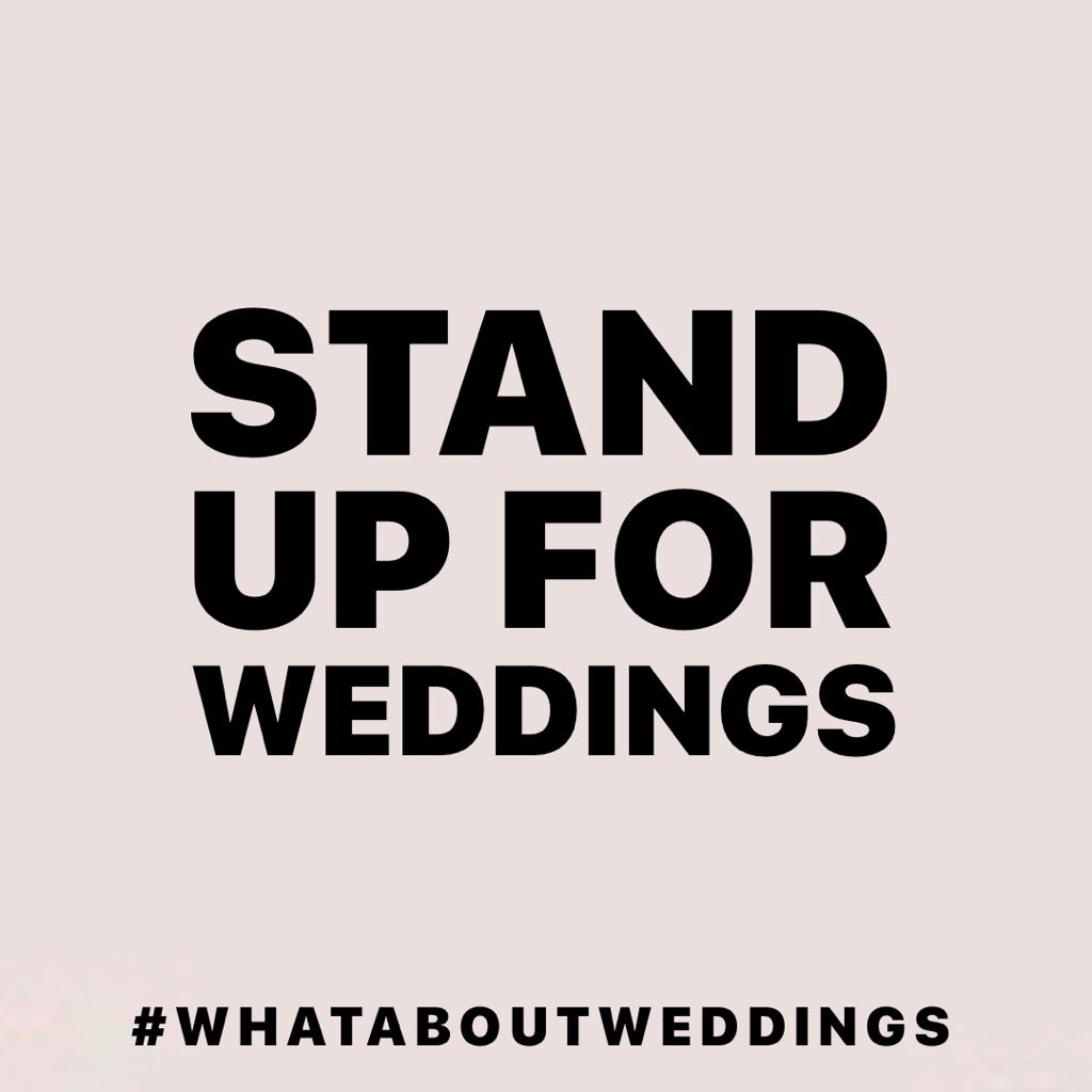 If you do 1 thing today take some time to look at threads for #whataboutweddings #standupforweddings May not be #latestfashions  #celebcrush #scandal or #breakingnews but its a lot to do with peoples lives with still no #roadmap or #support!  Maybe make that the trend today!