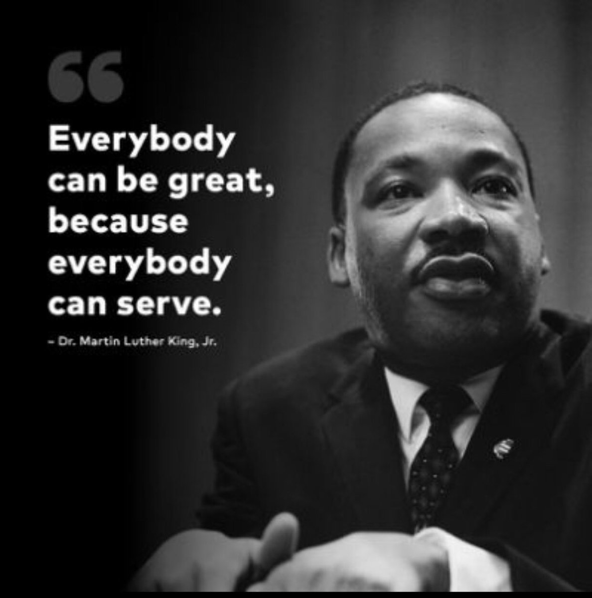 May we continually find ways to help others today and everyday! #MLKDay