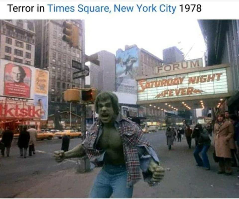 #TimesSquare was outta control back then. 😆