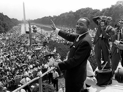 """""""Our lives begin to end the day we become silent about things that matter."""" #MLKDay"""