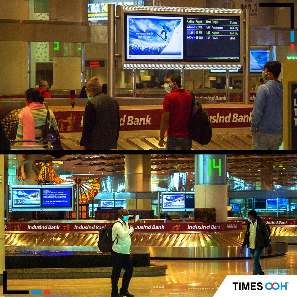 #Uttarakhand Tourism mesmerizes travellers at @CSMIA_Official  Airport by sharing a peek into the breathtaking scenery of the state .@UTDBofficial #vacation #travel #holiday #nature #love #trip #traveling #sun #sky #WINTER #MumbaiAirport #OOH